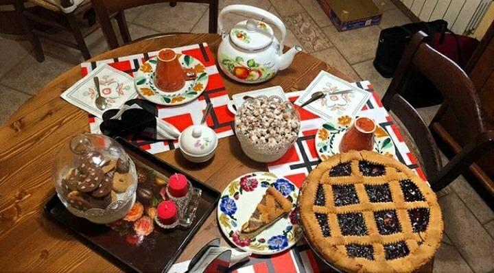 La colazione di A CASA DI NONNA