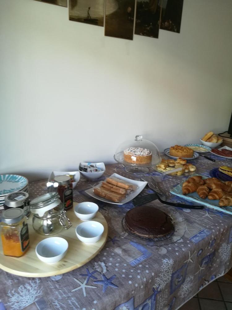 La colazione di CALA CHIARA