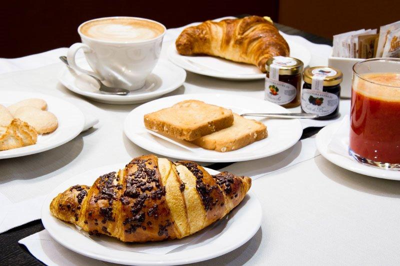 La colazione di VILLA FRANCA IN FRANCIACORTA