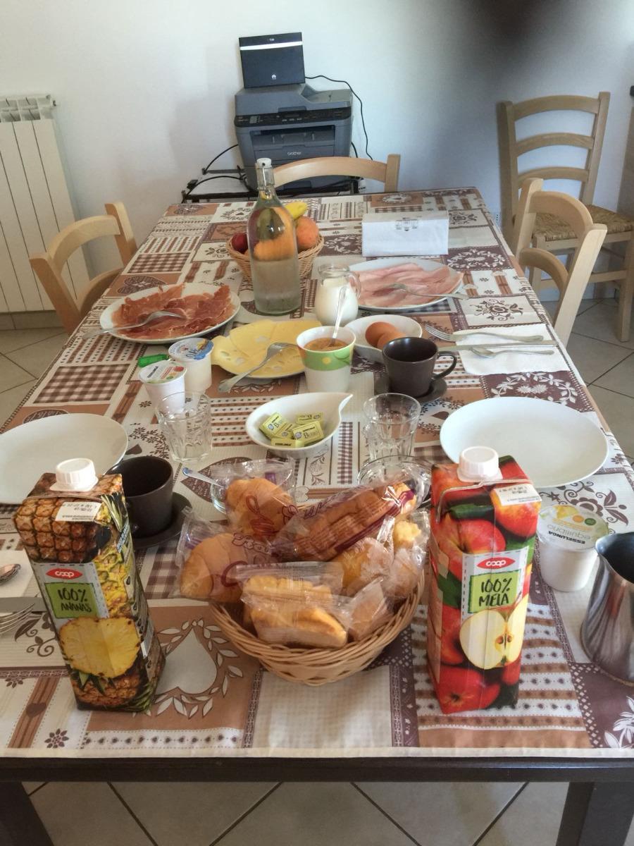 La colazione di B&B GIGÌ