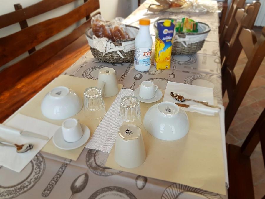 La colazione di AFFITTACAMERE CÀ THOMAS