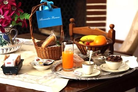 La colazione di MARGARITA D'AUSTRIA