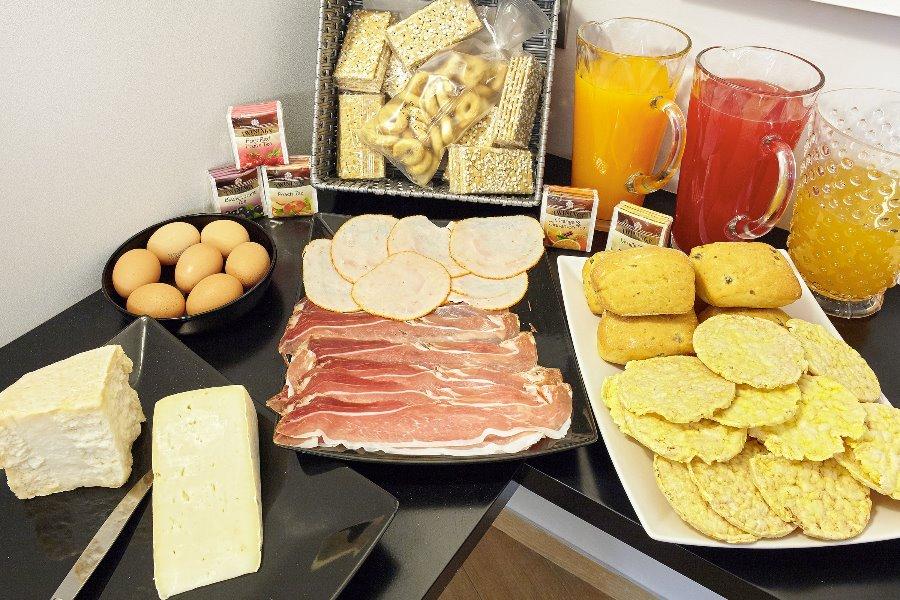 La colazione di RESIDENZA CA' DEGLI ENZI
