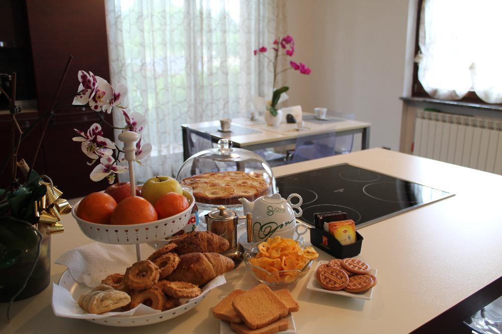 La colazione di LE ORCHIDEE