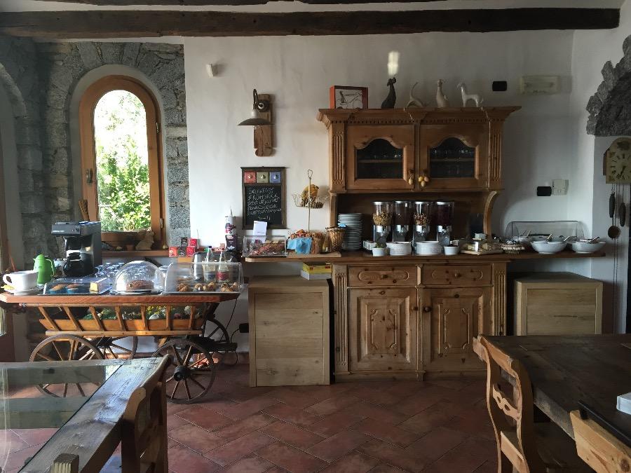 La colazione di VILLA TRÈS JOLIE