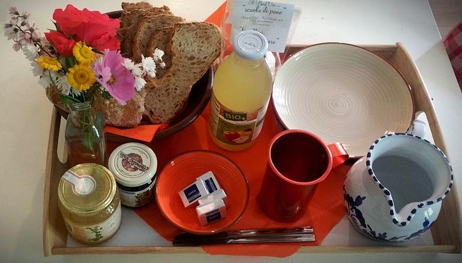 La colazione di B&B CHIARABOCCOLA