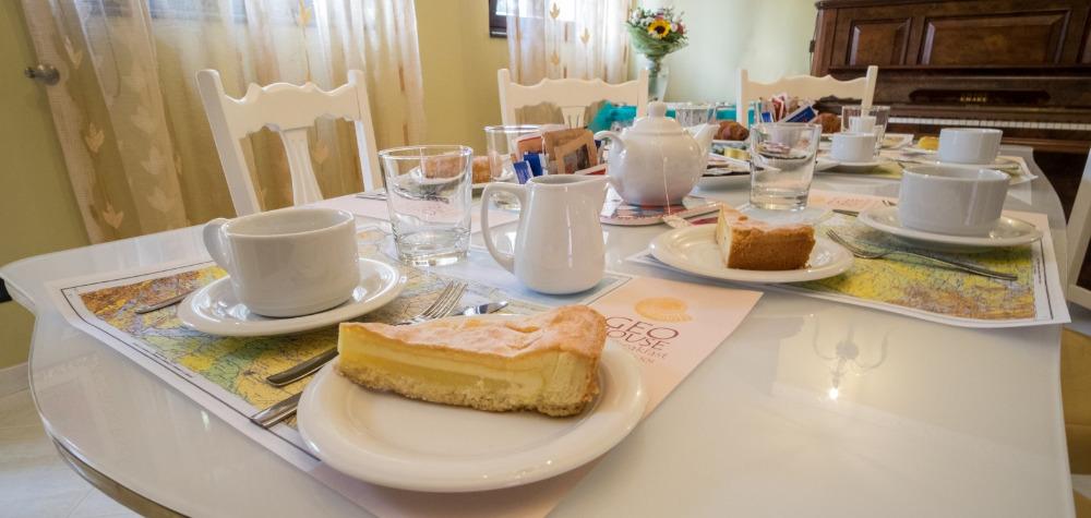 La colazione di GEOHOUSE