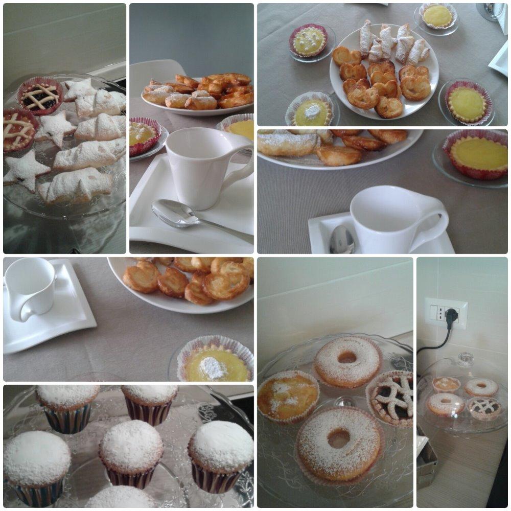 La colazione di CASTELLI DI SABBIA