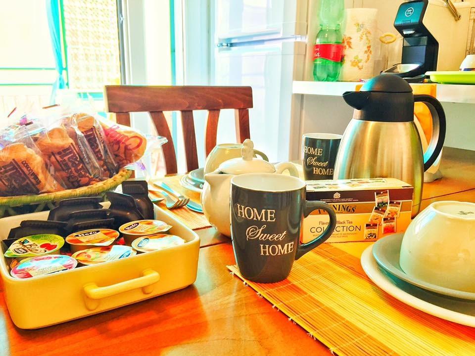 La colazione di IL GIARDINO DI AFFORI B&B