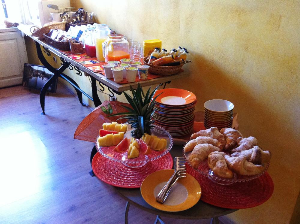 La colazione di LA ROCCHETTA