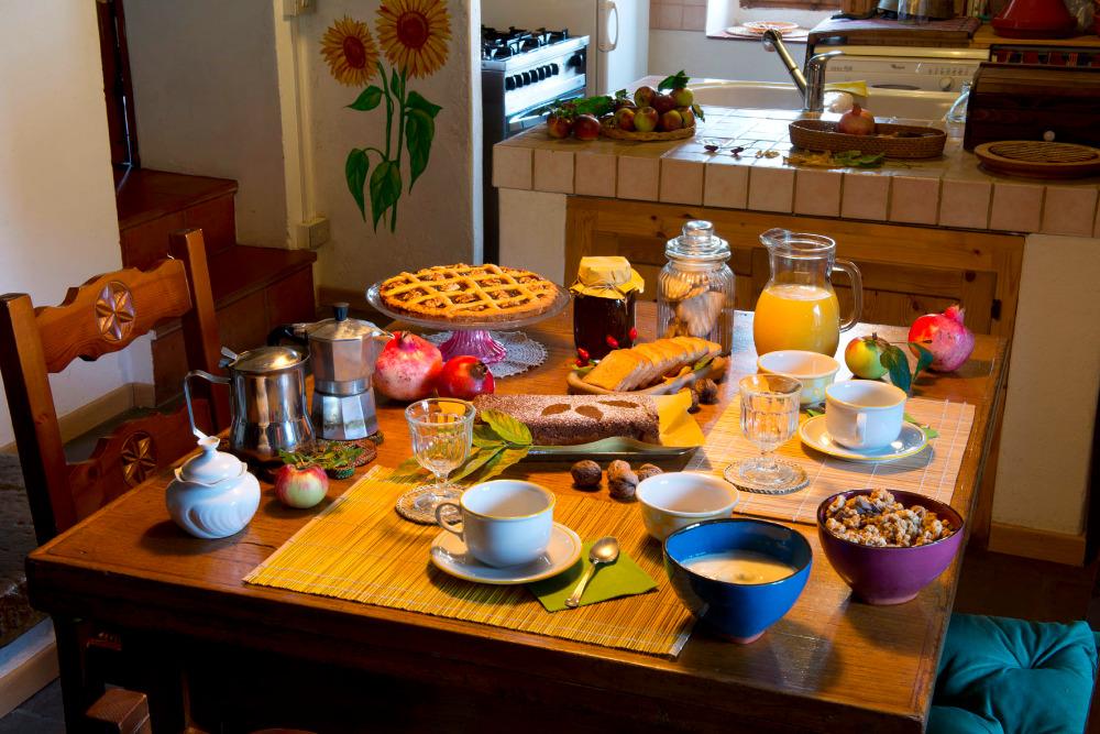 La colazione di LUNA E STELLE