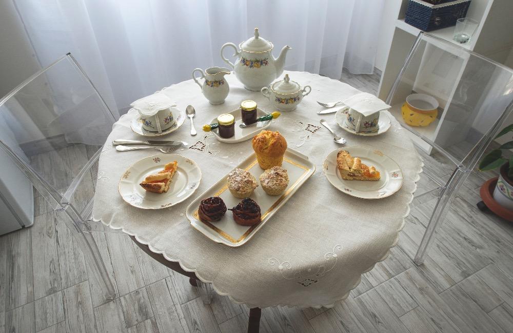 La colazione di A CASA DI RENATA