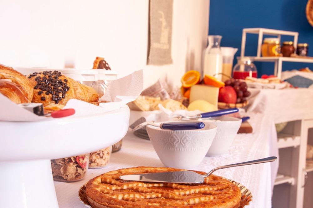 La colazione di VALESMERALDA BOUTIQUE ROOMS