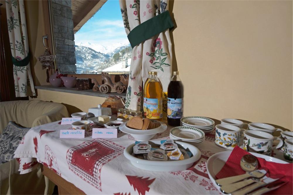 La colazione di L'ALBERO AZZURRO