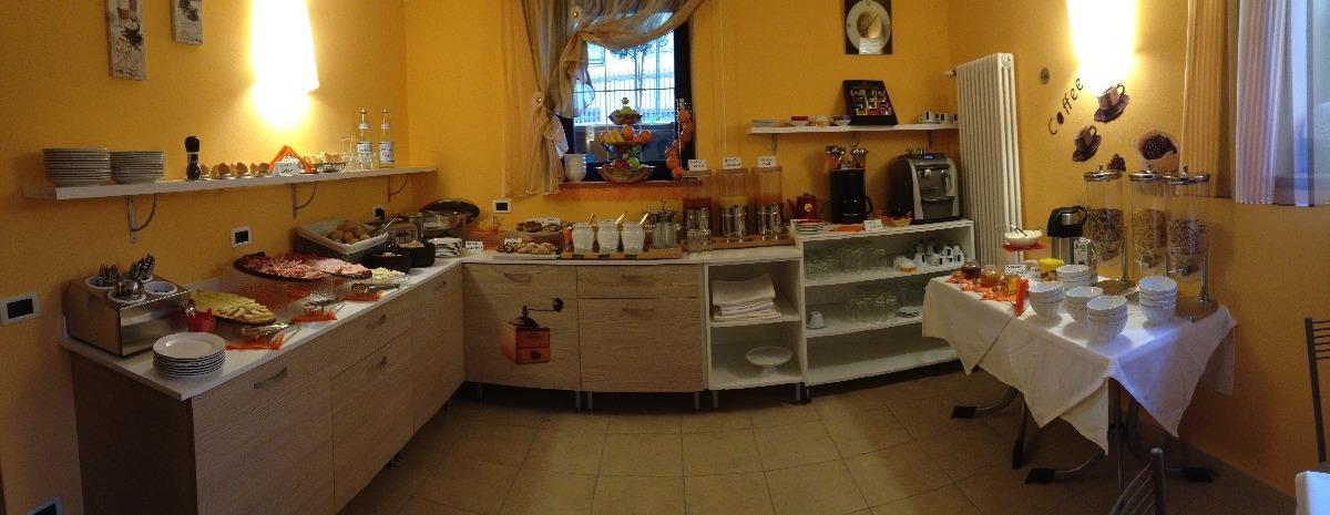 La colazione di GARNI VILLA BETTY