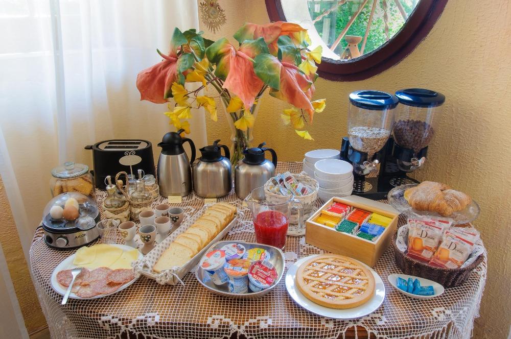 La colazione di B&B VILLA LE TERRAZZE