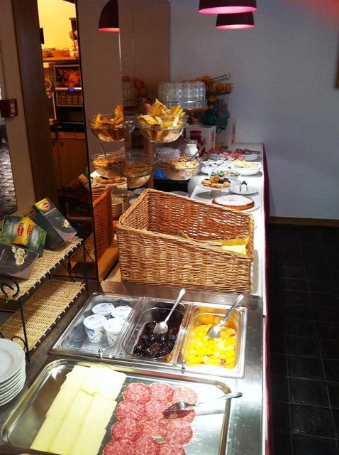 La colazione di HOTEL ARPA