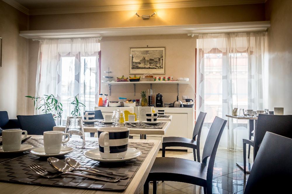 La colazione di B&B SAN PIETRO'S HOME