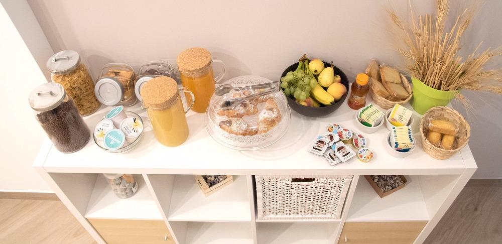 La colazione di B&B IN NATURA