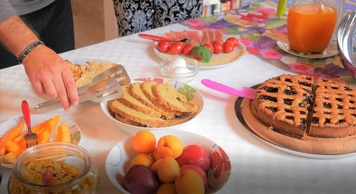 La colazione di B&B CASA FRANCESCA