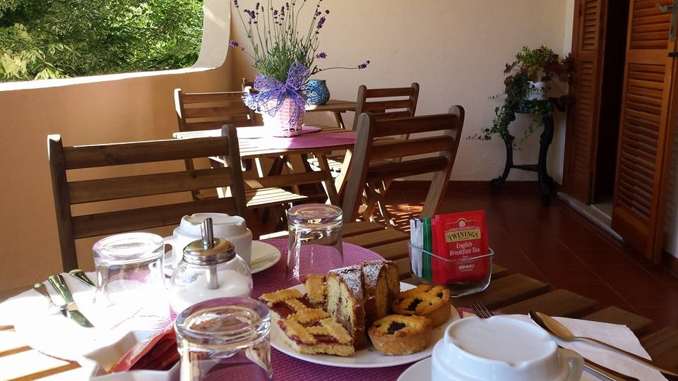 La colazione di B&B CAVALIERI