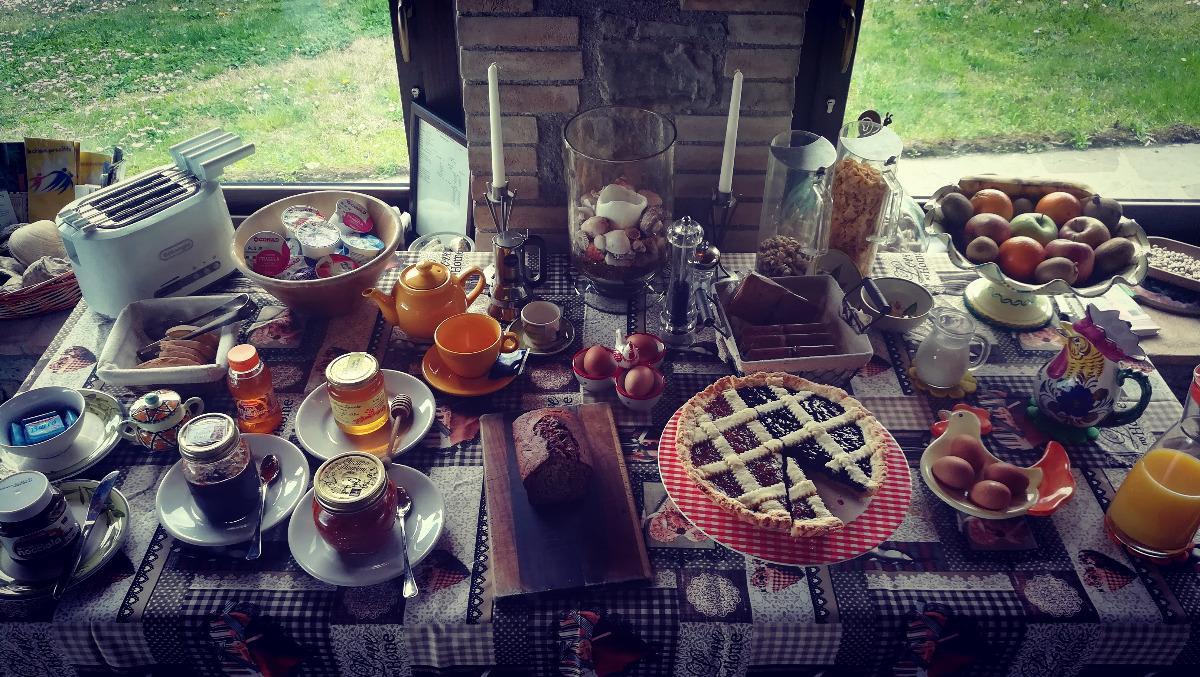 La colazione di ANTICA OLIVAIA