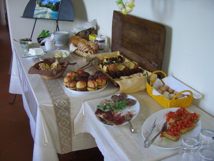 La colazione di AGRITURISMO I LAPI