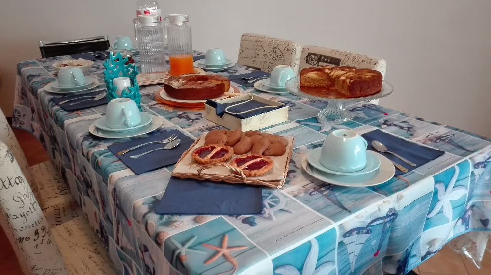 La colazione di LE CONCHIGLIE