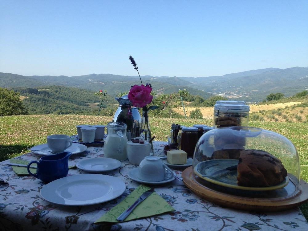 La colazione di FATTORIA IL TREBBIO