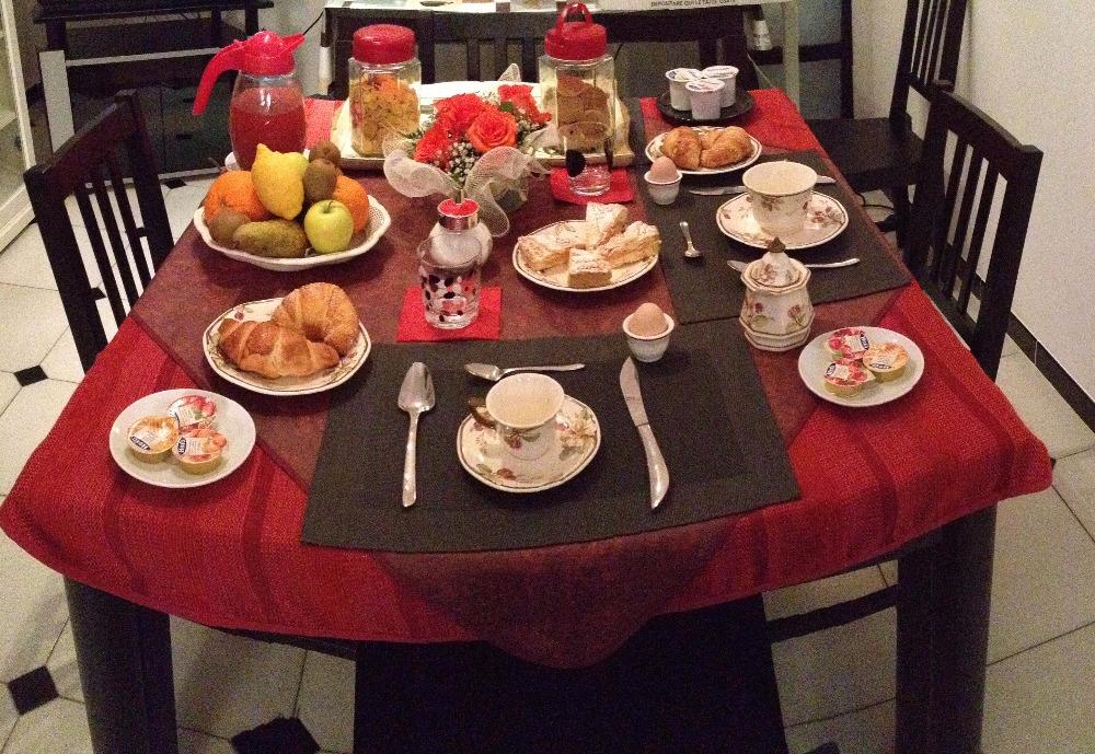 La colazione di B&B GH PONTEPICCOLO