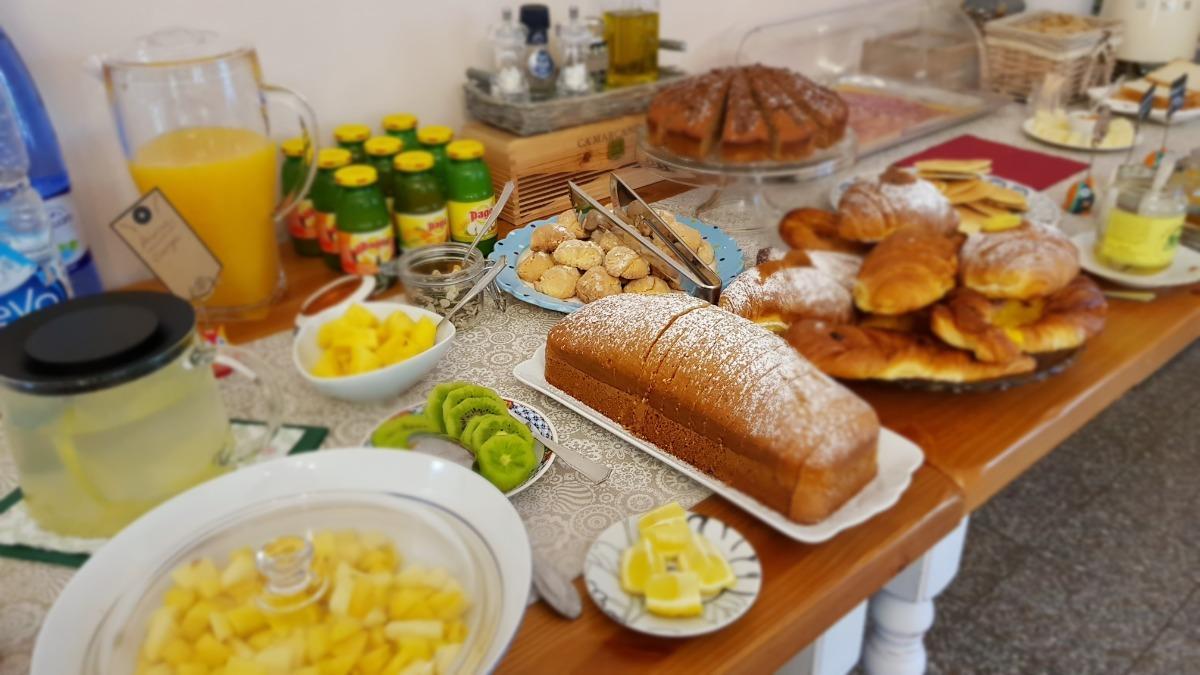 La colazione di VILLA MANDRIOLI