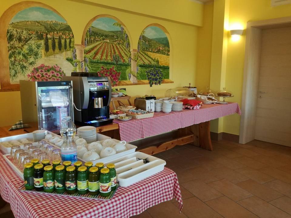 La colazione di AGRITURISMO CORTE AMBROSI