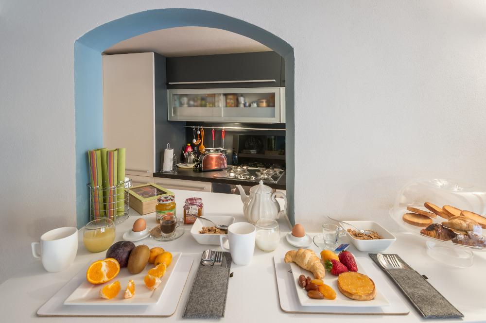 La colazione di MOSCOVA LUXURY B&B