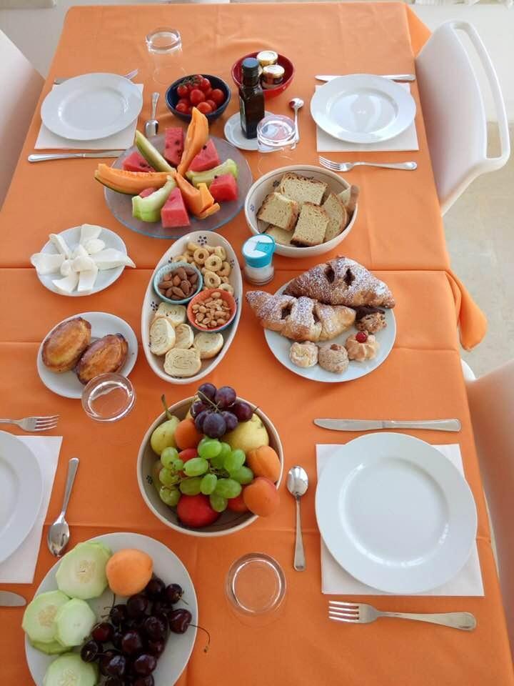 La colazione di MASSERIA FARESALENTO