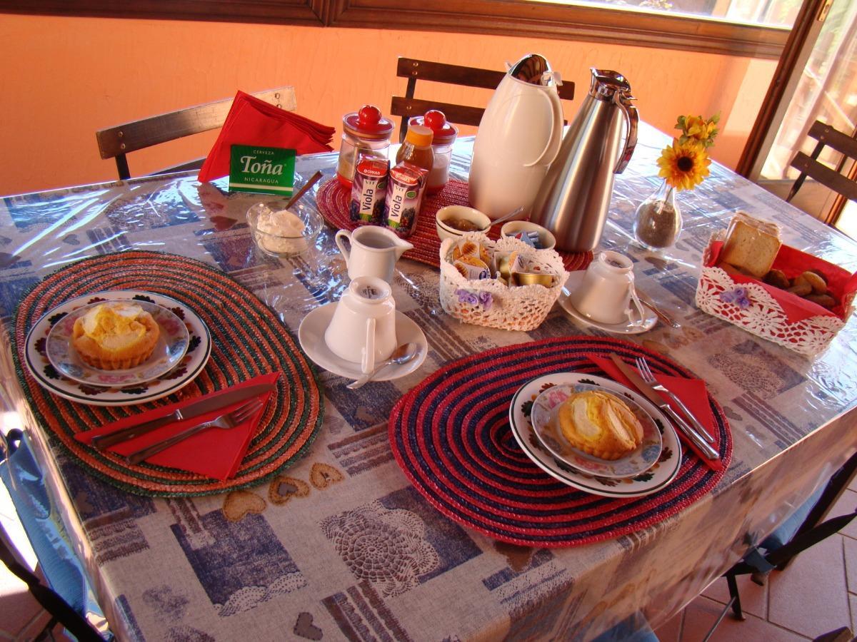 La colazione di B&B CASA ZIZZOLO
