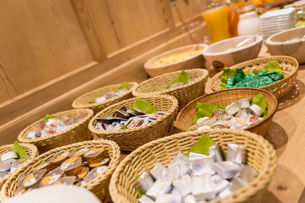 La colazione di WALDHEIM ALPINE APPARTEMENTS