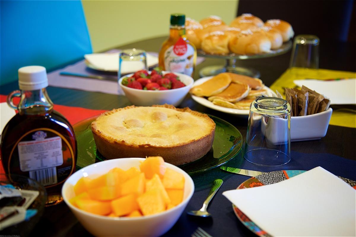 La colazione di IL GIARDINO SEGRETO