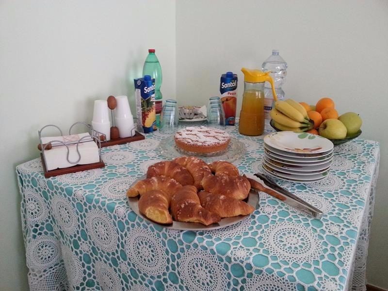 La colazione di B&B STELLA MARINA