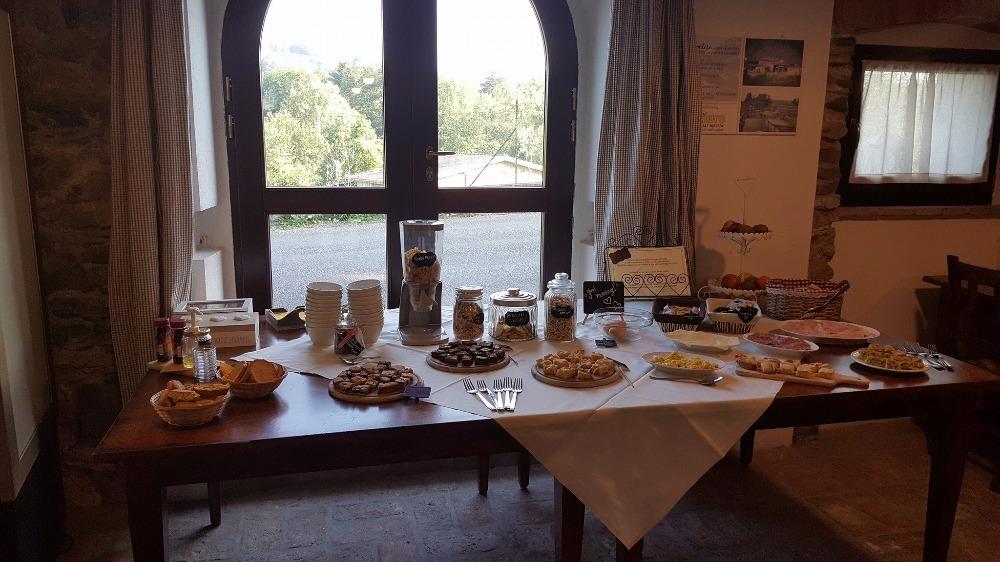 La colazione di AGRITURISMO PODERE MONTESE