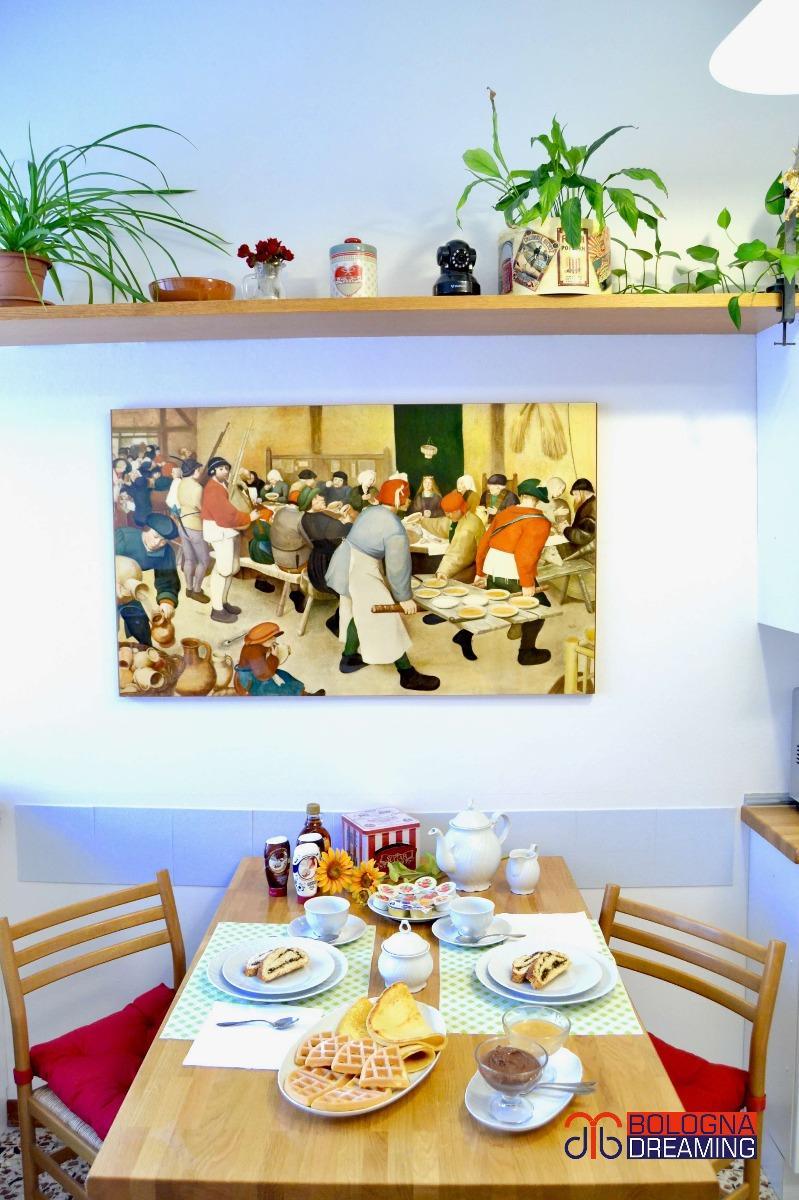 La colazione di B&B BOLOGNA DREAMING