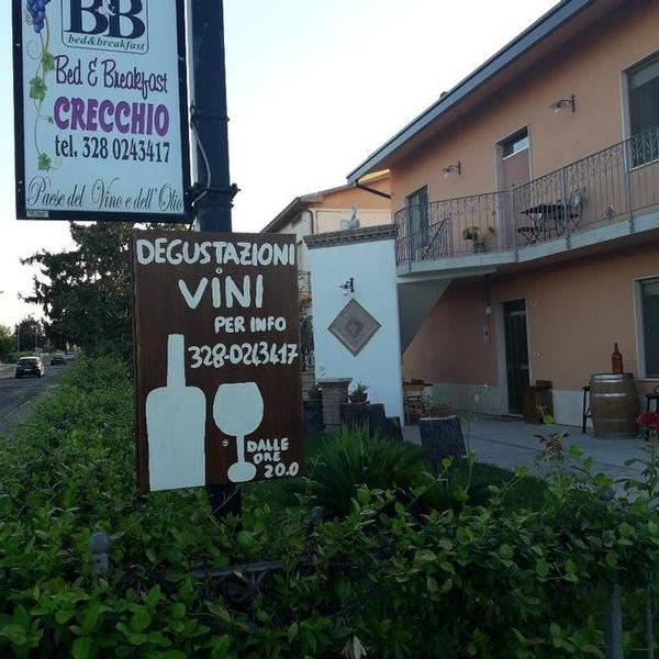 bed and breakfast crecchio