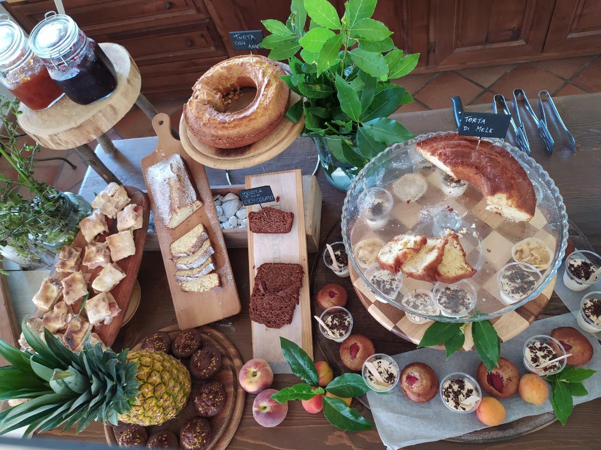 La colazione di PODERE CONTE GHERARDO