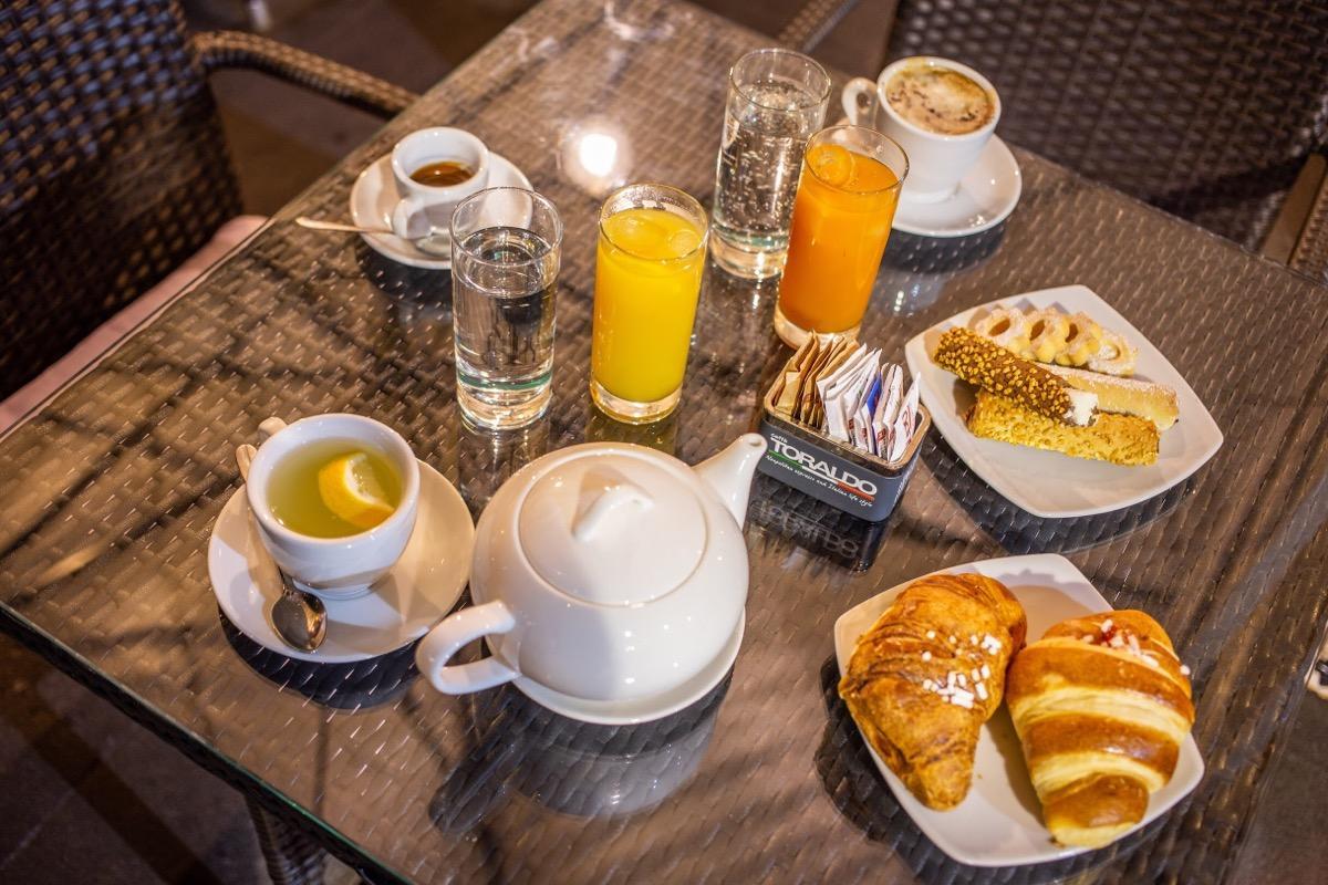 La colazione di NAPOLI GREAT VIEW
