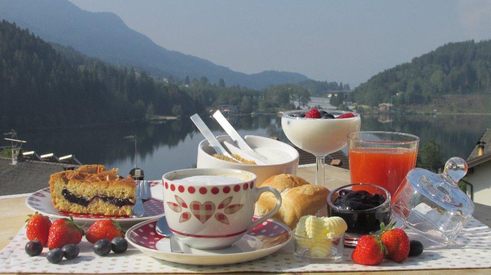 La colazione di B&B CUORE TRENTINO