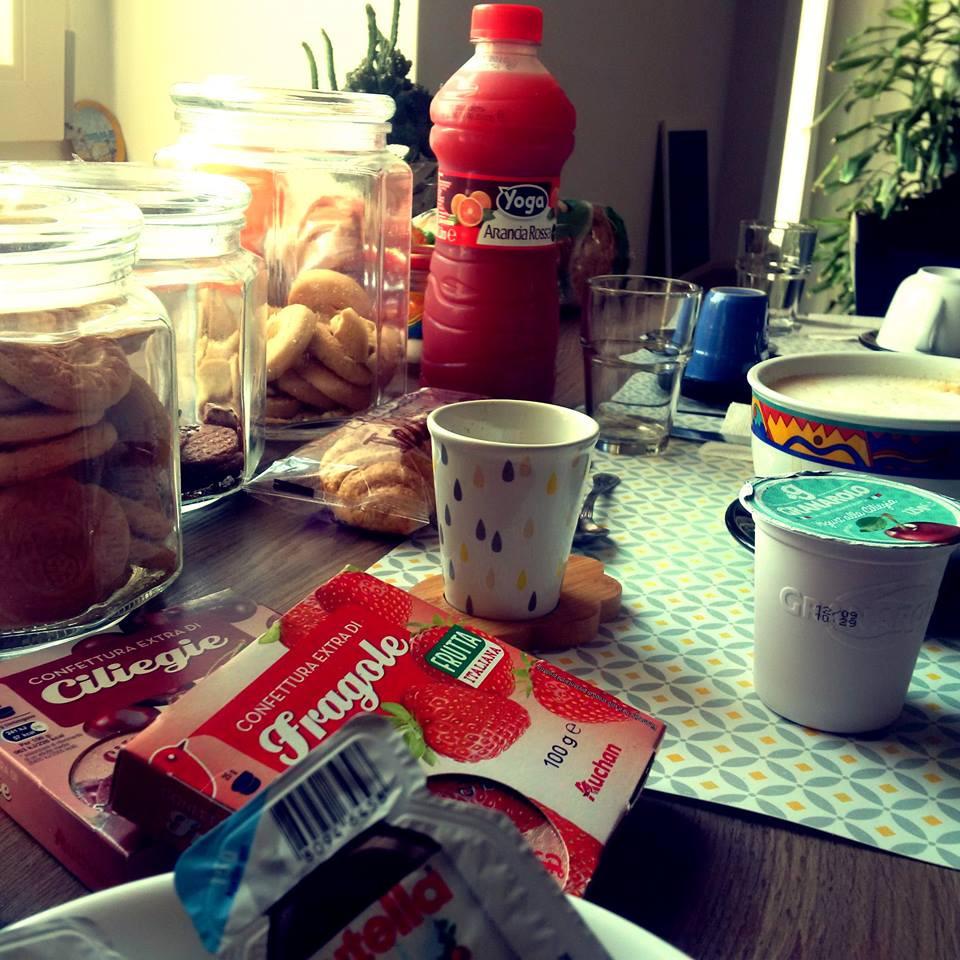 La colazione di LA NASSA