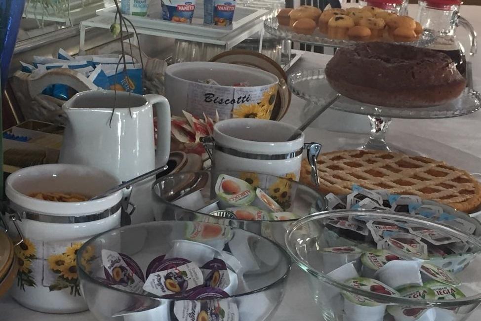 La colazione di HOTEL RIDENS