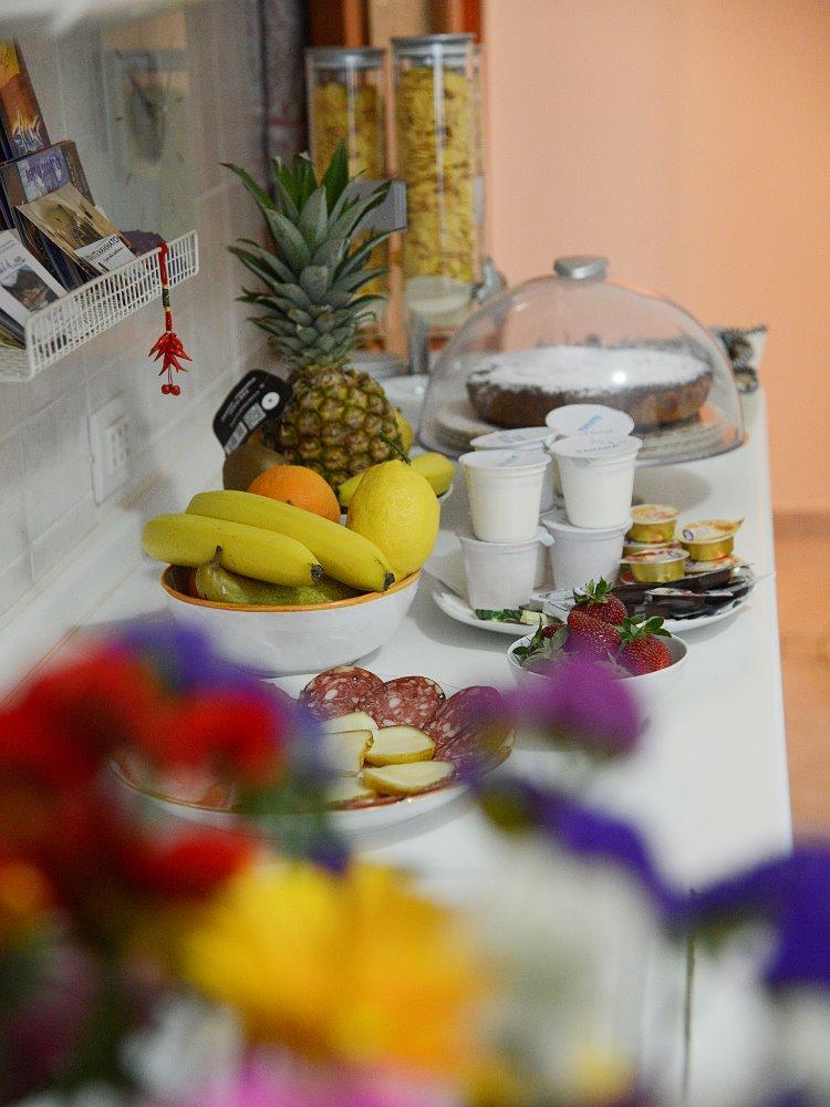 La colazione di B&B LA CASA D'AMARE