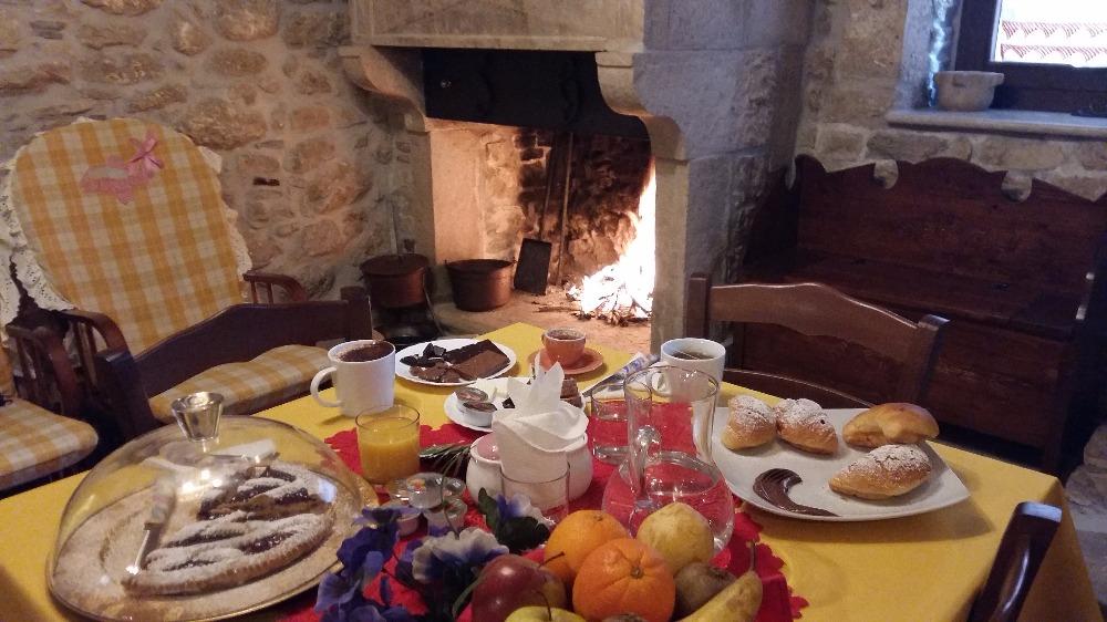 La colazione di BORGO LA FORGIA