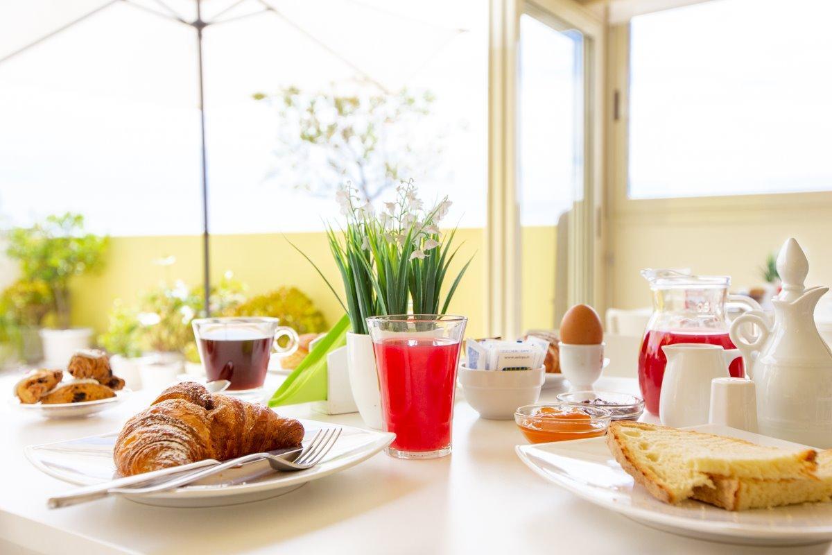 La colazione di A VIEW ON CAGLIARI