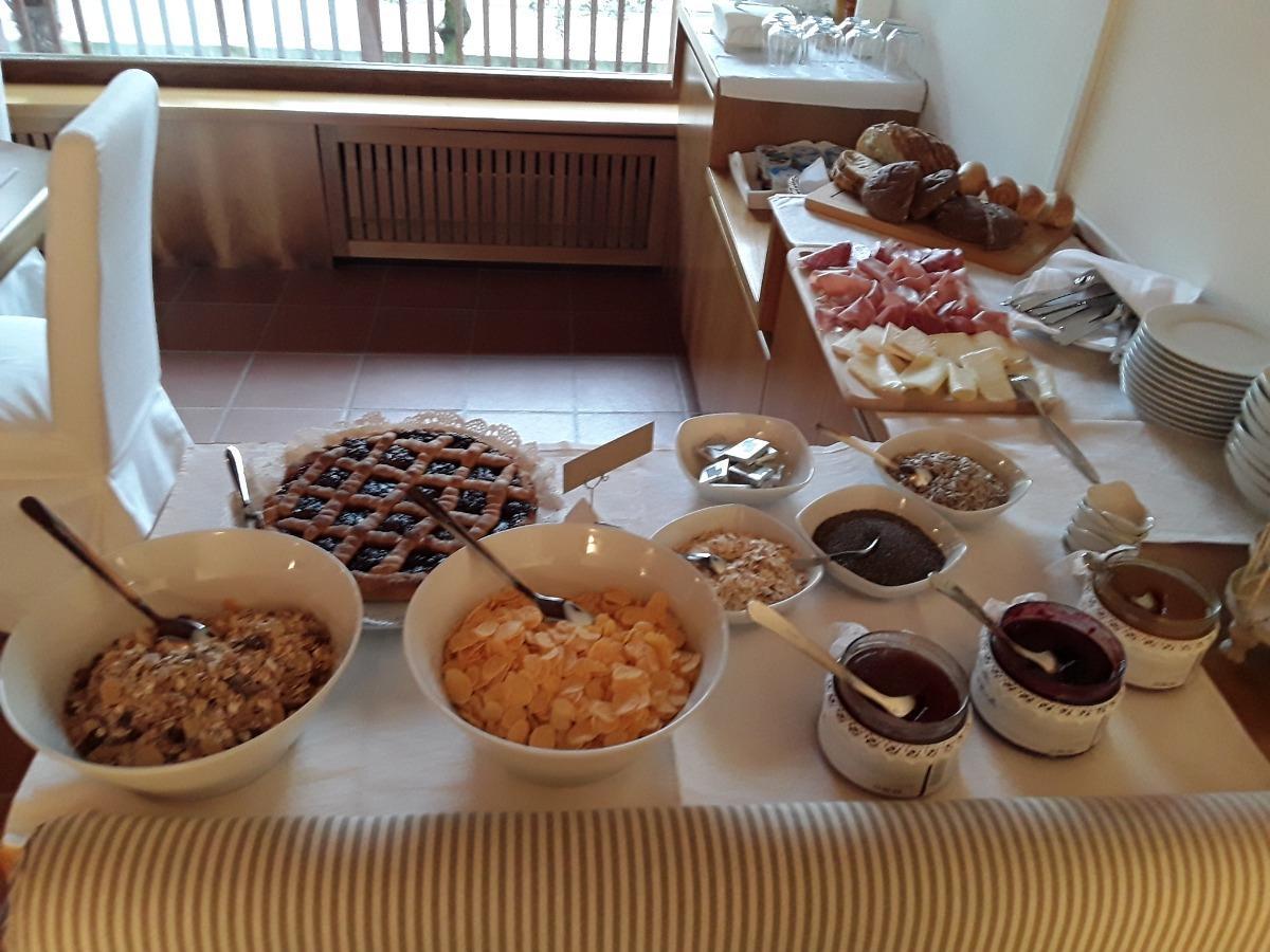 La colazione di VILLA DEGLI OLIVI RELAIS
